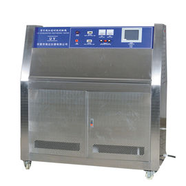 Steel Plate UV Aging Test Chamber , Lamp Fabric UV Accelerated Weathering Testing Machine